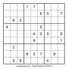 #Daily #Difficult #Sudoku