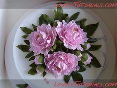 Идейки композиций из сахарных цветов и фарфора-Gumpaste (fondant, polymer clay) Flower Arrangements Ideas - Мастер-классы по украшению тортов Cake Decorating Tutorials (How To's) Tortas Paso a Paso
