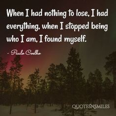 NOthing To Lose Paulo Coelho Picture Quote