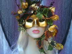 Land Nymph Masquerade Mask by RomanticDesires