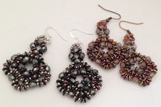 O Earrings--Beginners Tutorial