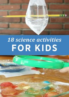 With snow days in full swing, you may need some ideas to keep the kids entertained. 18 Science Activities for Kids will keep their minds active and engaged in learning!
