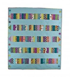 "My quilt called ""Dot to Dot"" on the Generation Q Blog - February 2013"