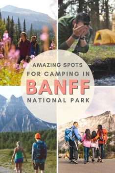 If you love getting back to nature, you've probably heard of Canada's Banff National Park. But do you know the best places to overnight in the great outdoors? National Park Passport, Banff National Park, National Parks, Quebec, Montreal, Banff Photography, Vancouver, Canadian Travel, Canadian Rockies