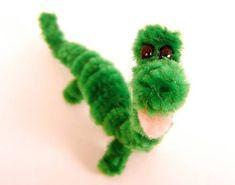 Pipe Cleaner Dinosaur