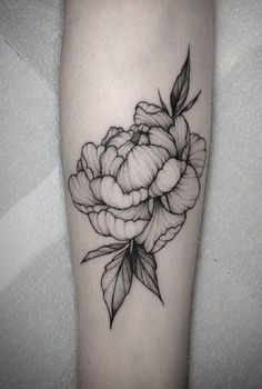 If you are a person with some bold character, here, you can try this peony tattoo that can suit your personality and style. It is a good idea for the women, who are looking for their first attractive tattoo.
