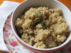 Aprenda a fazer quinoa sem complicação! Receita completa em http://gordelicias.biz.