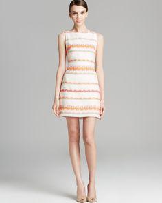 Alice + Olivia Dress - Eli Stripe Tweed | Bloomingdale's $192