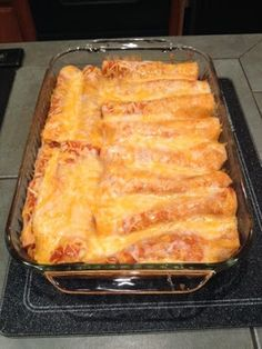 My Mobile Recipes: Chicken Enchiladas