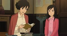 """Umi and her mom - """"From Up on Poppy Hill"""" (2011)"""