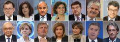 Este es el nuevo Gobierno de Mariano Rajoy