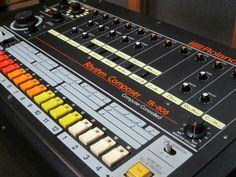 MATRIXSYNTH: Roland TR-808 Vintage Analog Drum Machine SN 03119...