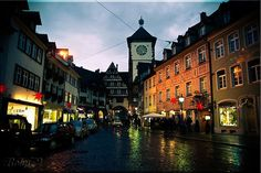 Freiburg Germany, one of the prettiest places to visit in Germany. Close to the Black Forest with awesome people. This might have to be where Ro and I move one of these years! Vacation Places, Vacation Spots, Black Forest Germany, Sustainable Transport, Europe Photos, Lomography, Travel Memories, Best Cities, Abandoned Places