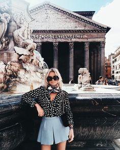 Fashion and inspiration for a stylish lifestyle. Rome Outfits, Style Outfits, Fashion Outfits, Spring Summer Fashion, Spring Outfits, Easy Style, Inspirations Magazine, Photos Voyages, Wanderlust Travel