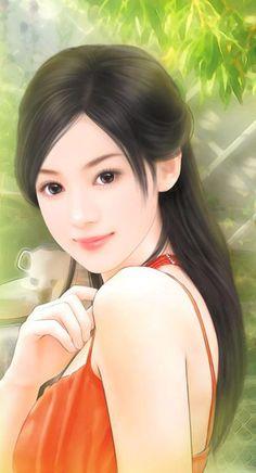 chinese art - 绘现代美女 #115