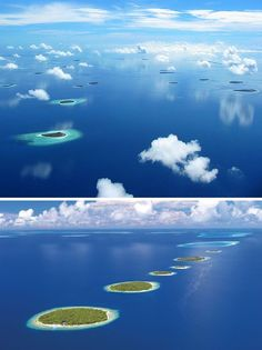 "The Indian Ocean nation of the Maldive Islands is the poster child for island nations, consisting of a double-chain of 26 coral atolls and encompassing approximately 1,190 individual islands. The coral atolls are in most cases divided into 5 to 10 inhabited islands and from 20 to 60 uninhabited ones. This unique situation of geography allows entrepreneurs on the inhabited islands to provide ""desert island vacations"" for foreign tourists looking to live – temporarily – like Robinson Crusoe."