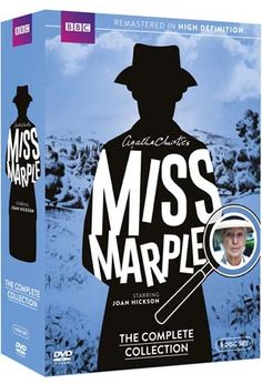 """Miss Marple"" Miss Marple: The Complete Collection at BBC Shop"