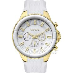 BREEZE Air Hollywood Chrono White Rubber Strap Μοντέλο: 110091.2 Τιμή: 180€ http://www.oroloi.gr/product_info.php?products_id=30584