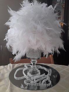 27 best ostrich centerpieces gatsby masquerade images in 2019 rh pinterest com
