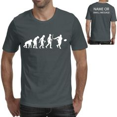 Evolution of Rugby Sports Player Funny Printed T shirt Funny Tees, Funny Tshirts, Beer Funny, Gymnastics Funny, Volleyball Funny, Basketball Funny, Evolution T Shirt, Funny Prints, Dog Shirt