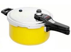 Panela de pressão amarela Eterna 4,5 L 97175 - Nigro
