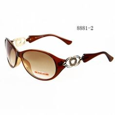 Fashion Simple Plastic Sunglasses for Female 8881-2