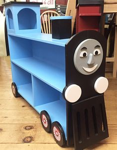 Thomas The Train Bookcase - Perfect for a kid's bedroom or playroom!