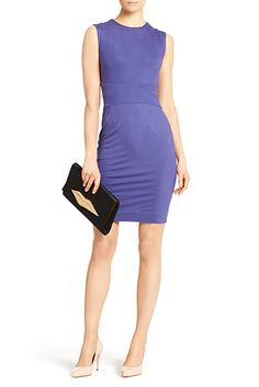 DVF | The Gretchen is a basic shift with body flattering paneling at the waist.   http://on.dvf.com/198b4P6