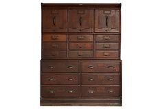 "Globe-Wernicke File Cabinet  -  41""L x 13""W x 53'H  -  OneKingsLane.com  -  ($6,000.00)  $4,499.00"