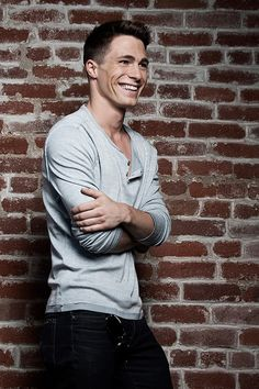 Colton Haynes...look at that smile! Just look at it! Feel better??