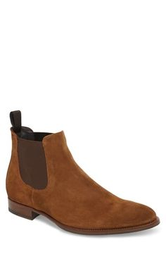 $398.0. TO BOOT NEW YORK Boot Shelby Mid Chelsea Boot #tobootnewyork #boot #shoes To Boot New York, Leather Chukka Boots, New York Mens, Driving Loafers, Chelsea Boots, Uggs, Nordstrom, Ken Doll, Palette