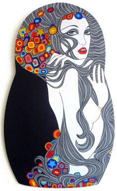 Matrioska Klimtiniana, Fernanda Guedes