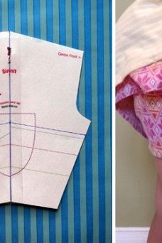Altering a Shorts Pattern: Take 2 - Changing the Leg Width {tutorial}