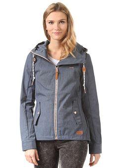 RAGWEAR Monade - Jacke für Damen - Blau - Planet Sports