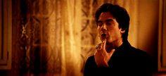 Damon Salvatore GIFs From The Vampire Diaries | POPSUGAR Entertainment