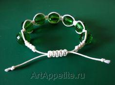 DIY : Bracelet shamballa