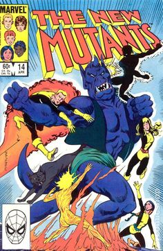 New Mutants (1983 1st Series) 14