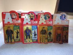 Original 1983 Ateam galoob figures Sci Fi Horror, Geek Stuff, Action, Adventure, The Originals, Retro, Painting, Art, Geek Things