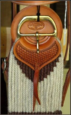 Mohair Cinch_Cinch_Safes_Chafe Guards