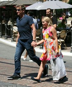 Gordon Ramsay & his youngest daughter Matilda out on the town...
