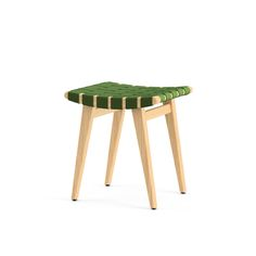 Risom Child's Stool | Knoll  (not even a little bit precious, but the webbing is a light touch and the curve of the seat is gentle.)