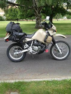 Show your painted KLR. - Page 27 - Forums - Your Kawasaki Forum Resource! Trail Motorcycle, Enduro Motorcycle, Moto Jawa, Klr 650, Dual Sport, Bike Art, Street Bikes, Bike Trails, Sport Bikes