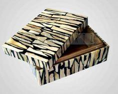 Jewelry box made of Bones