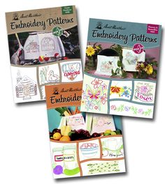 Aunt Martha's Embroidery Patterns