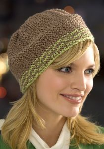 Ribbed Beanie Knitting Pattern | FaveCrafts.com