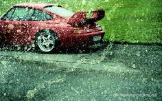 Porsche 911 Art Analogue Double Exposures Porsche 911 Kunst Analoge Doppelbelichtungen