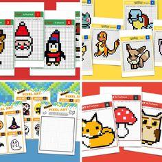 Pixel Art Smiley, Pixel Art Kawaii, Pixel Art Halloween, Pixel Art Harry Potter, Pixel Art Noel, Pixel Pokemon, Art Adulte, Art Football, Disney Kawaii