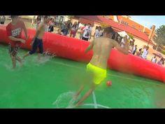 ▶ Youtuberský vodný fotbal s Tomtom bandit - YouTube