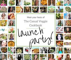 Meet 'n Greet The Casual Veggie Cookbook - I'm excited that some of my #recipes are part of a collaborative, blogger-made eCcookbook coming later this month!