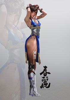 ArtStation - Chun Li, Johnson Ting